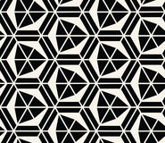 Geometric  seamless pattern vector Stock Photos