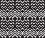Geometric seamless  pattern. Stock Images