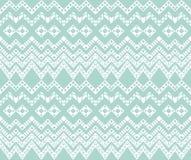 Geometric seamless  pattern. Royalty Free Stock Image