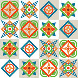 Geometric seamless pattern. Vector illustration Royalty Free Stock Photos