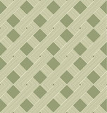 Geometric seamless pattern with weave style. Royalty Free Stock Photo