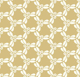 Geometric Seamless Pattern. Seamless white ornament. Modern geometric pattern with repeating elements Stock Photo