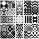 Geometric seamless patterns. vector illustration