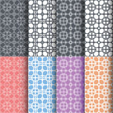 Geometric seamless patterns, Abstract background Stock Images