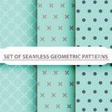 Geometric Seamless Patterns Royalty Free Stock Image