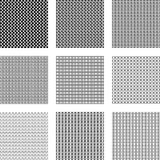 Geometric seamless patterns Stock Image