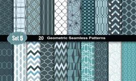 Free Geometric Seamless Patterns.vector Royalty Free Stock Photos - 57643238