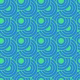 Geometric seamless patterns Stock Image