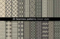 Geometric Seamless Patterns.vector Stock Images