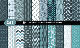 Geometric Seamless Patterns.vector Royalty Free Stock Photos