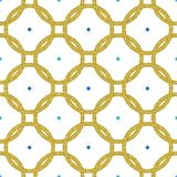 Geometric seamless repeat pattern. Vector illustration royalty free illustration