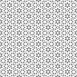 Geometric seamless repetitive particle stars pattern texture background. vector illustration