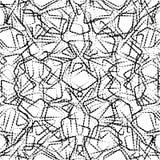 Geometric seamless simple pattern. Stock Photo