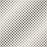 Geometric Seamless Star Shapes Pattern. Halftone Gradient Effect. Stylish Vector Illustration Royalty Free Stock Photo