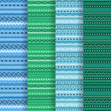 Geometric seamless texture Royalty Free Stock Image