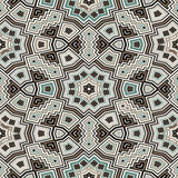Geometric seamless texture Stock Image