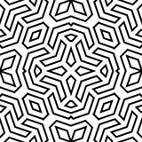 Geometric Seamless Vector Abstract Pattern Royalty Free Stock Image