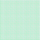 Geometric seamless vector pattern. Geometric seamless vector green pattern Royalty Free Stock Photography