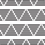 Geometric seamless vector pattern Stock Photography