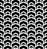 Geometric seamless vector pattern. Geometric seamless vector background with black and white pattern Royalty Free Stock Image