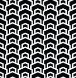 Geometric seamless vector pattern Royalty Free Stock Image