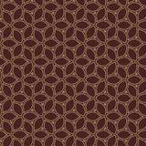 Geometric Seamless Vector Pattern Royalty Free Stock Photo