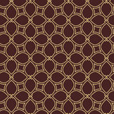 Geometric Seamless Vector Pattern. Seamless vector golden ornament. Modern background. Geometric pattern with repeating elements Royalty Free Stock Photography