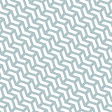 Geometric Seamless Vector Pattern. Geometric vector light blue and white pattern with arrows. Seamless abstract background royalty free illustration