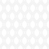 Geometric Seamless Vector Pattern. Seamless vector ornament. Modern background. Geometric pattern with repeating gray wavy lines Royalty Free Stock Photo
