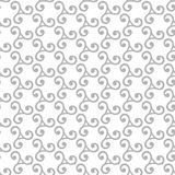 Geometric Seamless Vector Pattern. Seamless vector ornament. Modern background. Geometric pattern with repeating silver elements Stock Photo