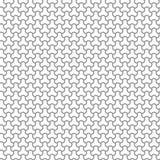 Geometric Seamless Vector Pattern. Seamless vector ornament. Modern background. Geometric modern silver pattern Stock Images