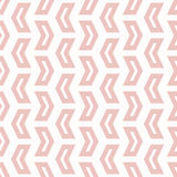 Geometric Seamless Vector Pattern. Geometric vector pattern with pink arrows. Seamless abstract background vector illustration