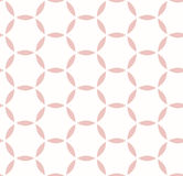 Geometric Seamless Vector Pattern. Seamless vector pink ornament. Modern background. Geometric pattern with repeating elements Royalty Free Stock Photography