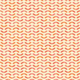 Geometric Seamless Vector Pattern. Geometric vector pattern with red and pink arrows. Seamless abstract background stock illustration