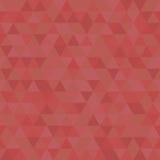 Geometric Seamless Vector Pattern. Geometric vector pattern with red triangles. Seamless abstract background Royalty Free Stock Photos