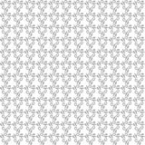 Geometric Seamless Vector Pattern. Seamless vector silver ornament. Modern background. Geometric pattern with repeating elements Royalty Free Stock Images