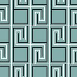 Geometric seamless vintage pattern Stock Photography