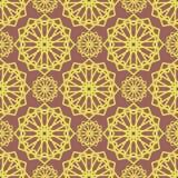 Geometric seemless pattern Stock Photo