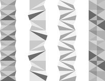 Geometric separators Royalty Free Stock Photo