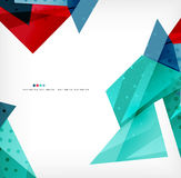 Geometric shape abstract futuristic background Royalty Free Stock Photography
