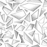Geometric shape abstract pattern Stock Image