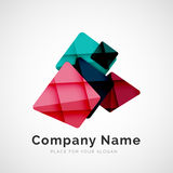 Geometric shape, company logo Royalty Free Stock Photo