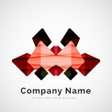 Geometric shape, company logo Royalty Free Stock Photography