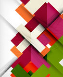 Geometric shape flat abstract background Royalty Free Stock Images