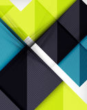 Geometric shape flat abstract background Stock Photos