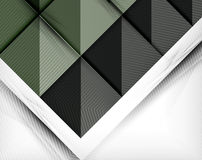 Geometric shape flat abstract background Royalty Free Stock Photography