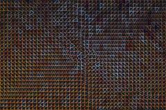 Geometric shape flowing, abstract background, digital art work. Digital artwork creative graphic design royalty free illustration