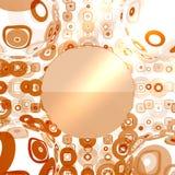 Geometric shape illustration Stock Images