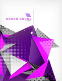 Geometric shape triangle abstract background Royalty Free Stock Photography