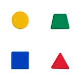 Geometric shapes stock photography